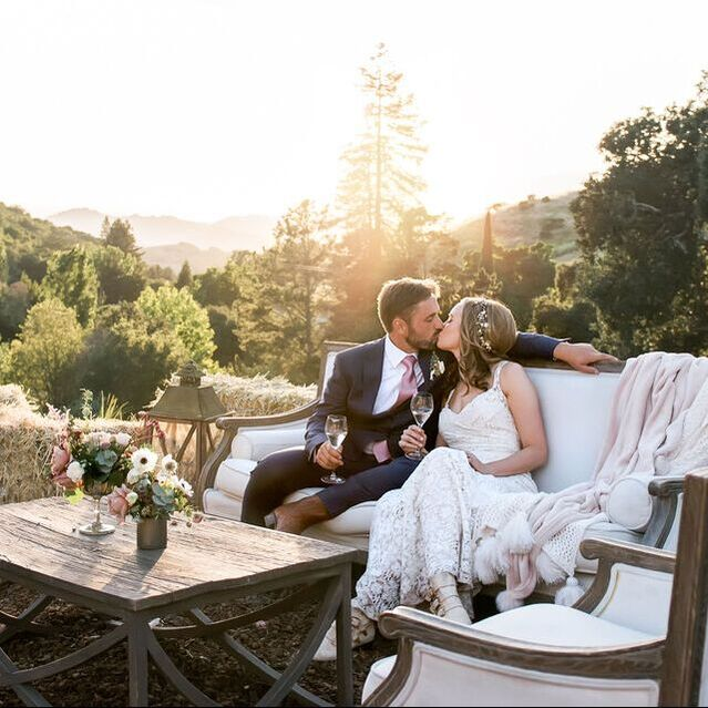 PictureA Rustic, Romantic Wedding at a Private Property in Moraga planning and design by Wedding Planner, Events by Pins & Petals, photography by Kate Kelly Photography